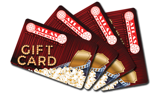 Atlas Cinemas Gift Cards - A Great Gift for Any Occasion!